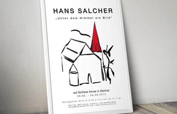 Hans Salcher - Poster