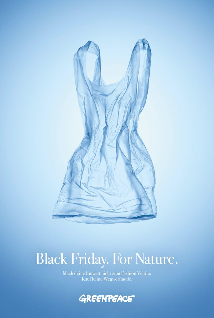 Black Friday. For Nature – Greenpeace – DDB Wien
